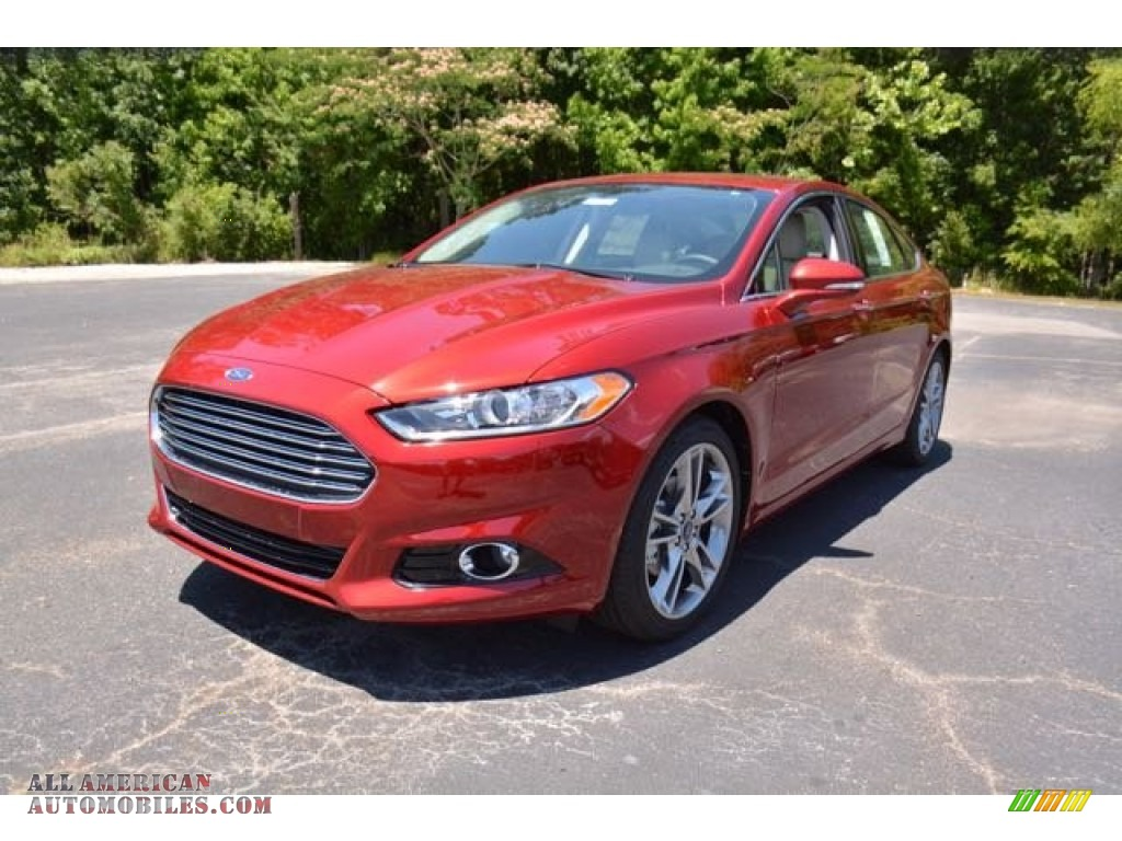 2016 ford fusion titanium in ruby red metallic 109538. Black Bedroom Furniture Sets. Home Design Ideas