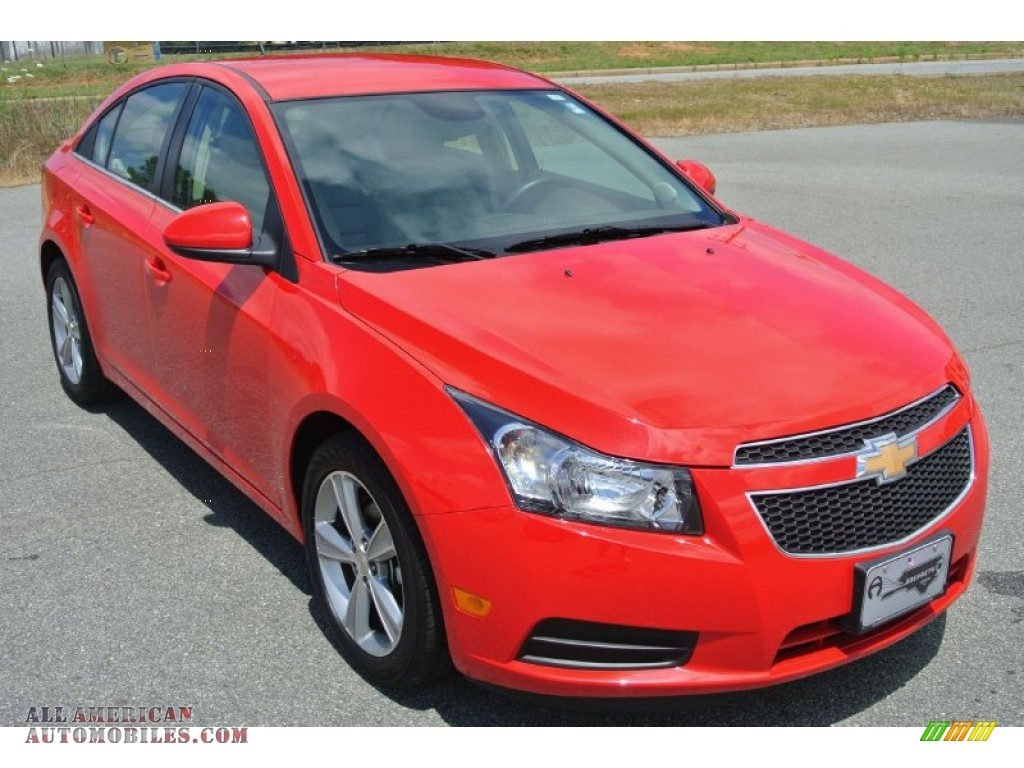 2014 chevrolet cruze lt in red hot 370124 all american automobiles buy american cars for. Black Bedroom Furniture Sets. Home Design Ideas