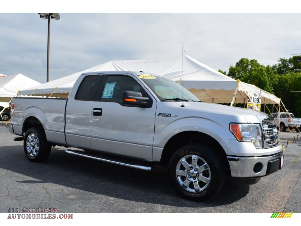 2014 ford f150 xlt supercab in ingot silver a22960 all american automobiles buy american. Black Bedroom Furniture Sets. Home Design Ideas