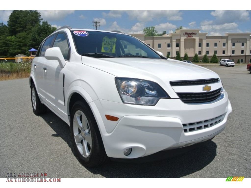 2015 chevrolet captiva sport ltz in arctic ice 504580 all american automobiles buy. Black Bedroom Furniture Sets. Home Design Ideas