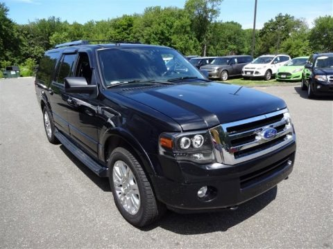 Tuxedo Black Metallic 2011 Ford Expedition EL Limited 4x4