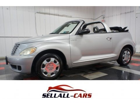 Bright Silver Metallic 2006 Chrysler PT Cruiser Convertible
