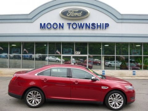 Ruby Red 2014 Ford Taurus Limited