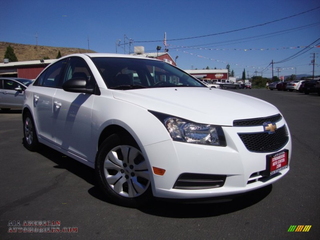 2014 chevrolet cruze ls in summit white 456899 all american automobiles buy american cars. Black Bedroom Furniture Sets. Home Design Ideas
