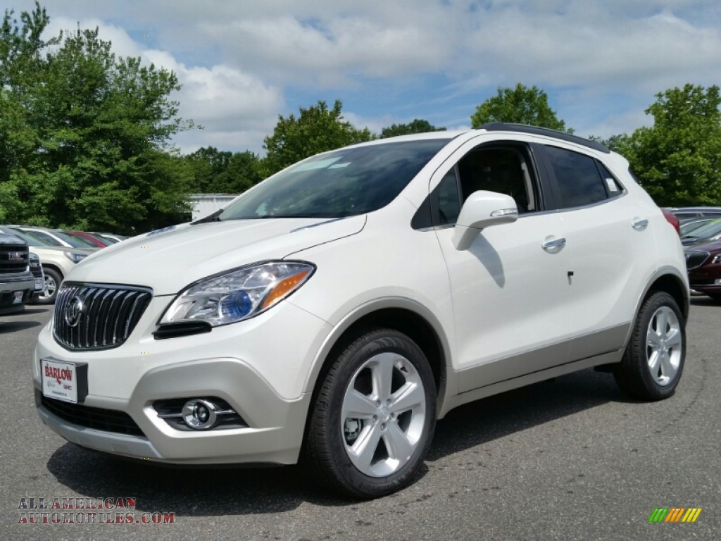 2015 buick encore convenience in white pearl tricoat 182697 all american automobiles buy. Black Bedroom Furniture Sets. Home Design Ideas