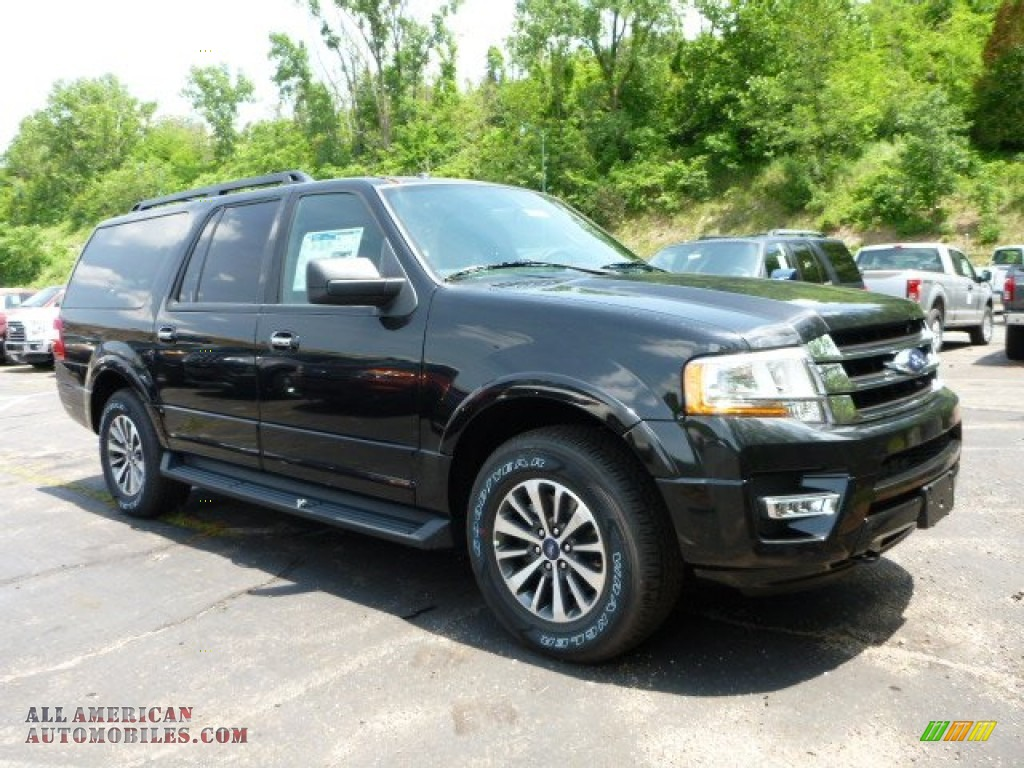 2015 ford expedition el xlt 4x4 in tuxedo black metallic f42928 all american automobiles. Black Bedroom Furniture Sets. Home Design Ideas