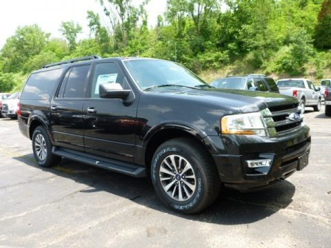 Tuxedo Black Metallic 2015 Ford Expedition EL XLT 4x4