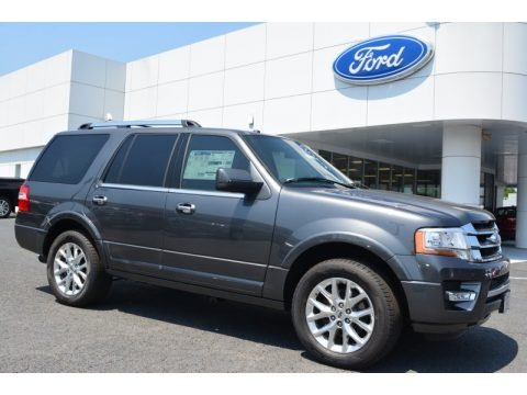 Magnetic Metallic 2015 Ford Expedition Limited