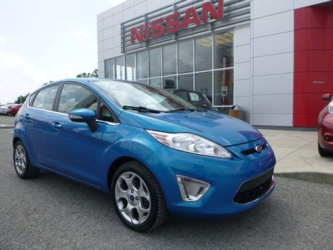 Blue Candy Metallic 2012 Ford Fiesta SES Hatchback
