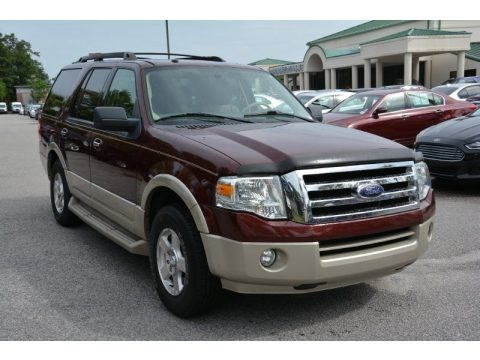 Royal Red Metallic 2009 Ford Expedition Eddie Bauer