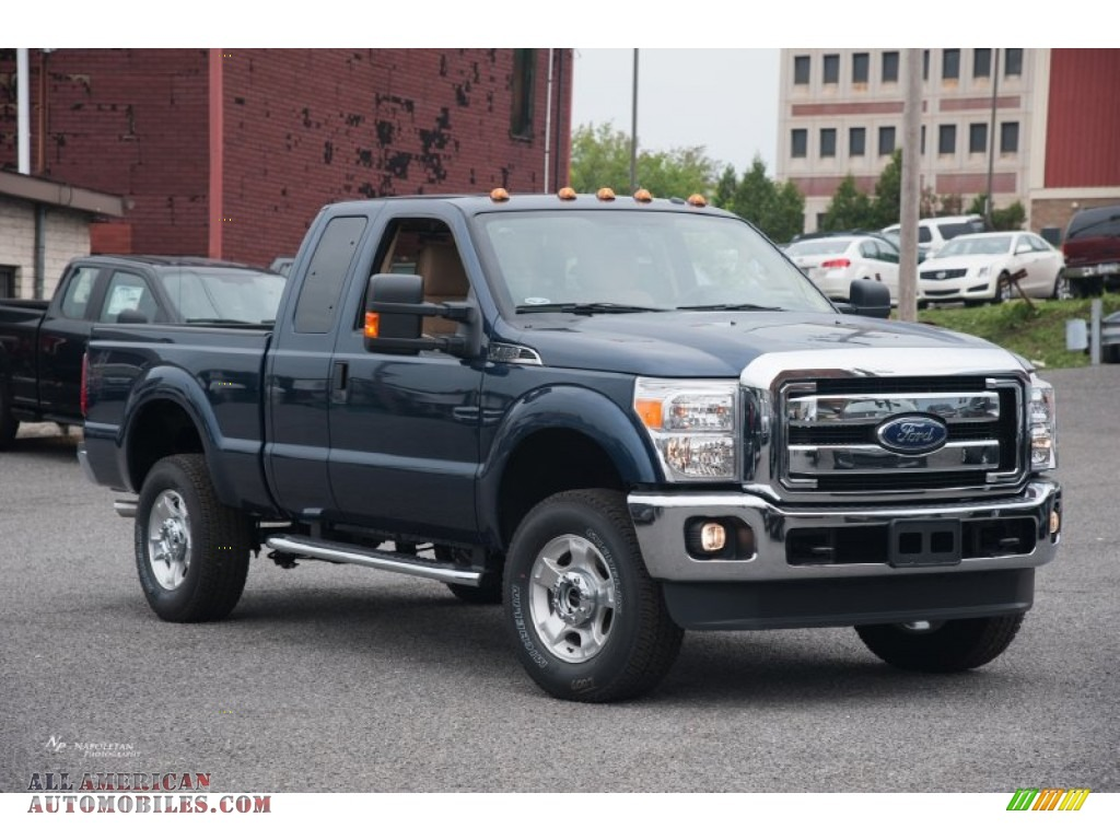 2015 ford f250 super duty xlt super cab 4x4 in blue jeans d64071 all american automobiles. Black Bedroom Furniture Sets. Home Design Ideas