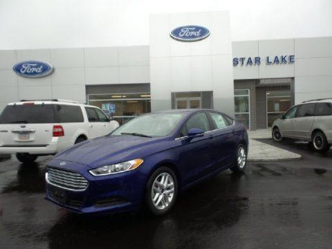 Deep Impact Blue Metallic 2016 Ford Fusion SE