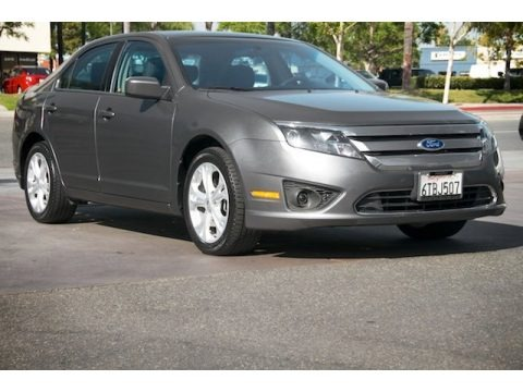 Sterling Grey Metallic 2012 Ford Fusion SE