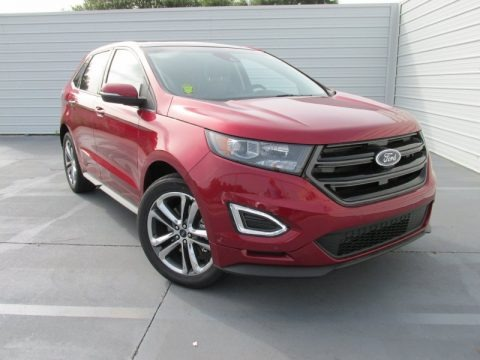 Ruby Red Metallic 2015 Ford Edge Sport AWD