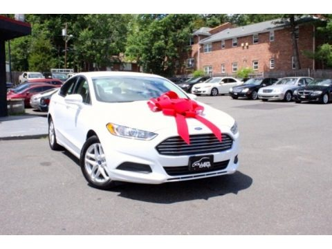 Oxford White 2013 Ford Fusion SE