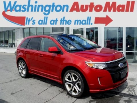 Red Candy Metallic 2011 Ford Edge Sport