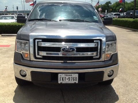 Sterling Grey 2014 Ford F150 XLT SuperCrew