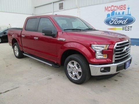 Ruby Red Metallic 2015 Ford F150 XLT SuperCrew