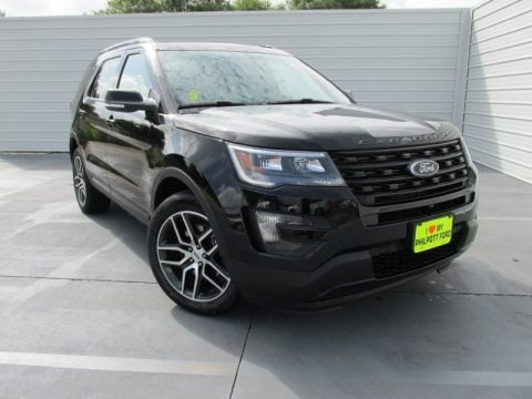 Shadow Black 2016 Ford Explorer Sport 4WD