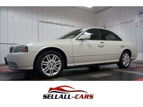 Ceramic White Pearlescent 2005 Lincoln LS V8