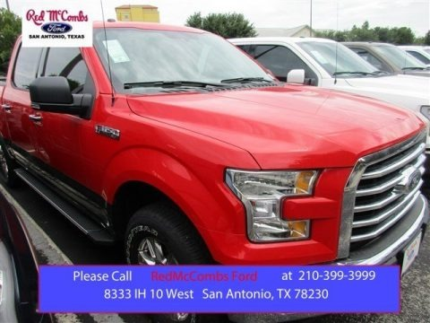 Race Red 2015 Ford F150 XLT SuperCrew 4x4