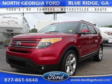 Ruby Red 2015 Ford Explorer Limited