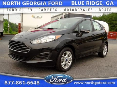 Tuxedo Black Metallic 2015 Ford Fiesta SE Hatchback