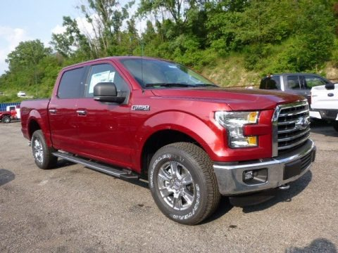 Ruby Red Metallic 2015 Ford F150 XLT SuperCrew 4x4