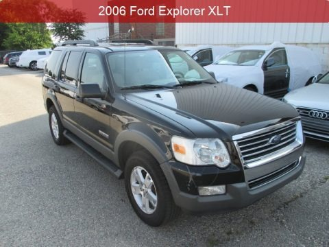 Black 2006 Ford Explorer XLT 4x4