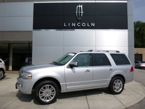 Ingot Silver 2014 Lincoln Navigator 4x4