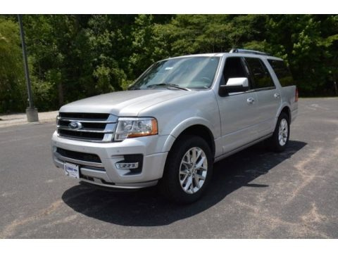 Ingot Silver Metallic 2015 Ford Expedition Limited