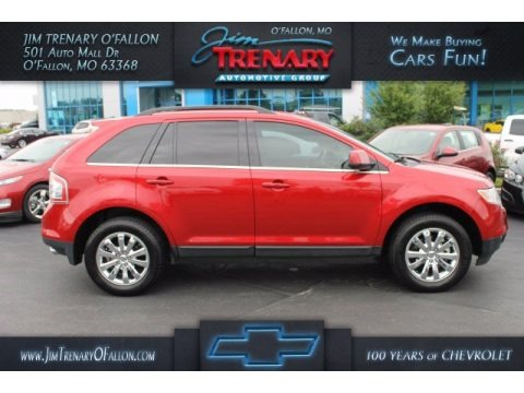 Red Candy Metallic 2010 Ford Edge Limited