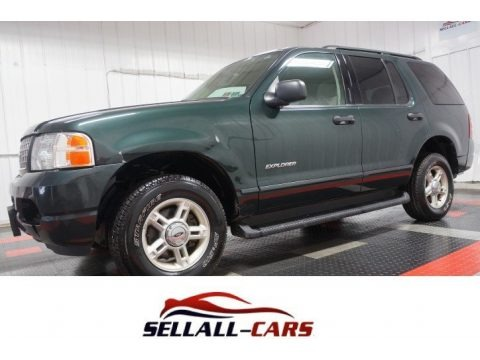 Aspen Green Metallic 2004 Ford Explorer XLT 4x4
