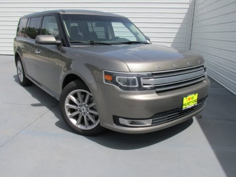 Mineral Gray 2014 Ford Flex Limited
