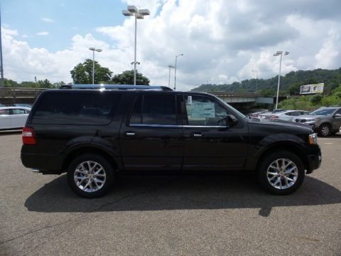 Tuxedo Black Metallic 2015 Ford Expedition EL Limited 4x4