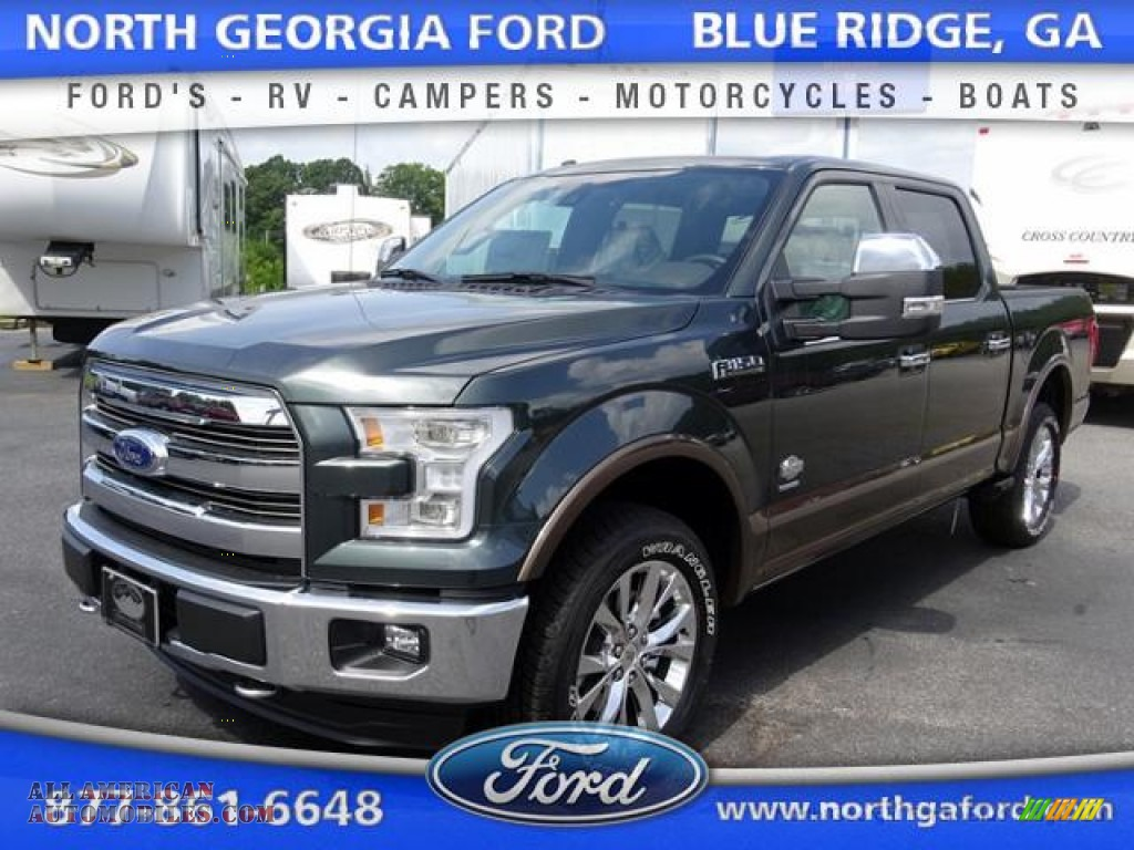 2015 ford f150 king ranch supercrew 4x4 in guard metallic b77280 all american automobiles. Black Bedroom Furniture Sets. Home Design Ideas