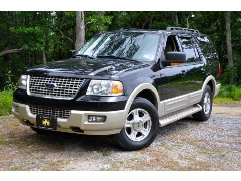 Black Clearcoat 2005 Ford Expedition Eddie Bauer 4x4