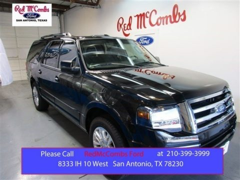 Tuxedo Black 2014 Ford Expedition EL Limited