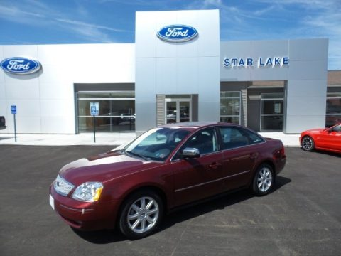 Redfire Metallic 2006 Ford Five Hundred Limited AWD
