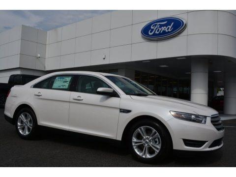 White Platinum Metallic 2015 Ford Taurus SEL