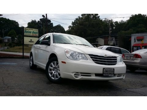 Stone White 2008 Chrysler Sebring LX Sedan