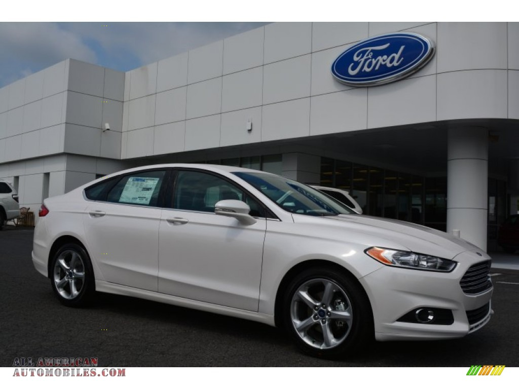 2016 ford fusion se in white platinum tri coat metallic 169871 all american automobiles. Black Bedroom Furniture Sets. Home Design Ideas