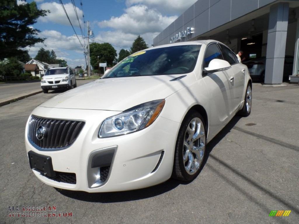 2012 Buick Regal Gs In White Diamond Tricoat 164903