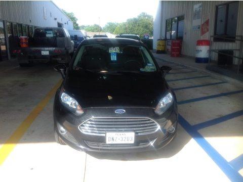 Tuxedo Black 2014 Ford Fiesta SE Hatchback