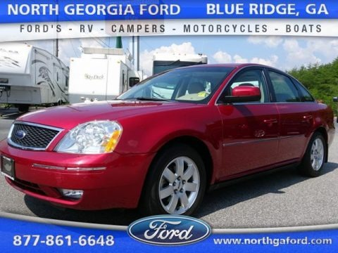 Redfire Metallic 2006 Ford Five Hundred SEL