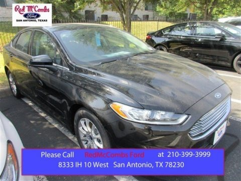 Shadow Black 2016 Ford Fusion S