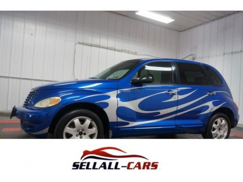 Electric Blue Pearl 2003 Chrysler PT Cruiser Touring