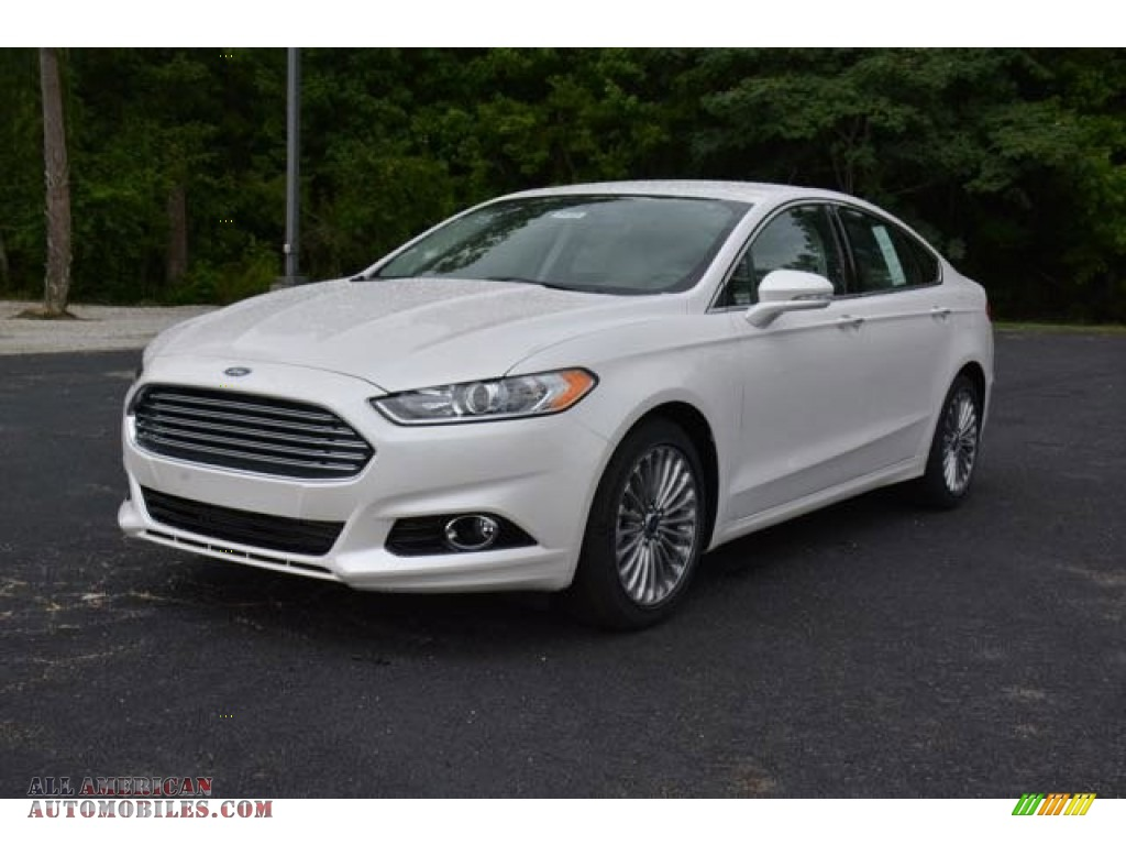 2016 ford fusion titanium in white platinum tri coat metallic 162952 all american. Black Bedroom Furniture Sets. Home Design Ideas