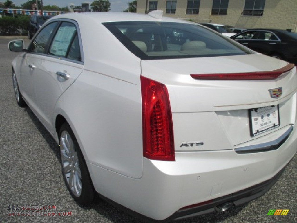 2015 cadillac ats 2 5 luxury sedan in crystal white tricoat photo 2 131643 all american. Black Bedroom Furniture Sets. Home Design Ideas