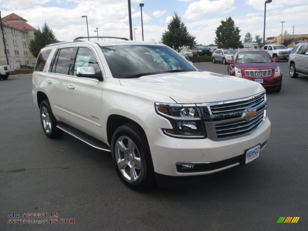2015 chevrolet tahoe ltz 4wd in white diamond tricoat 739818 all american automobiles buy. Black Bedroom Furniture Sets. Home Design Ideas